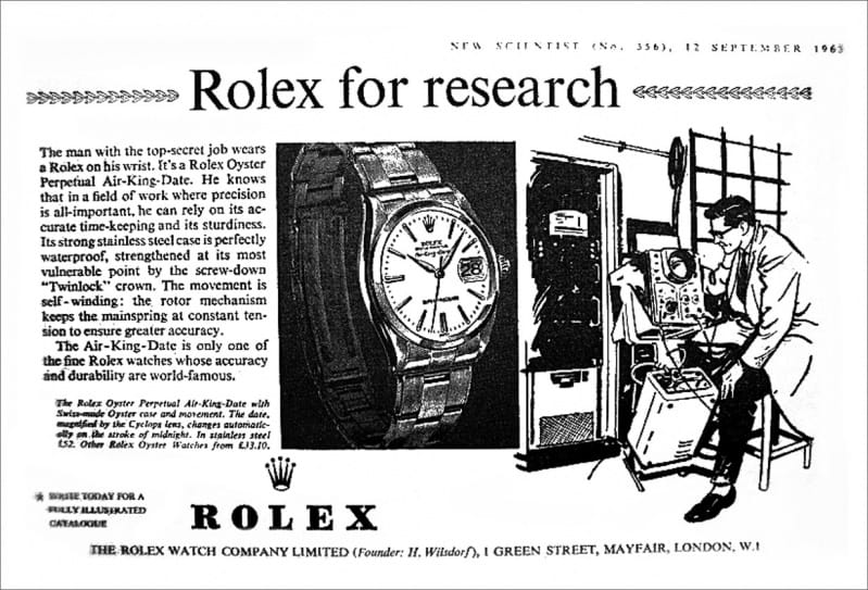 Rolex Air King History Bob S Watches Wristwatch Guide