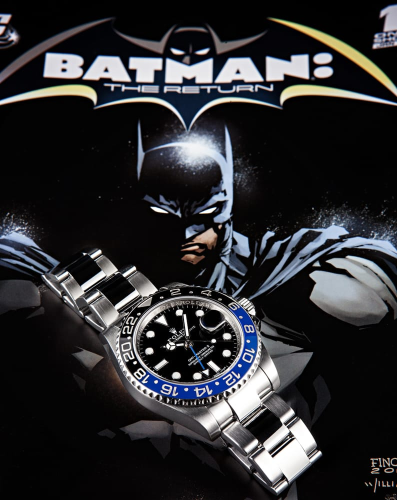 rolex gmt reference 11671blnr batman