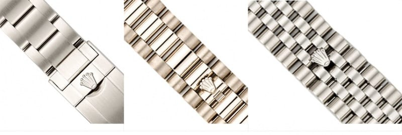 Rolex Bracelets Bands And Clasps Bob S Watches