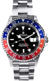 buy men s used rolex watches at the best prices at bob s watches rolex gmt master ii