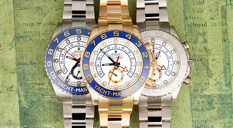 history of yachtmaster watch