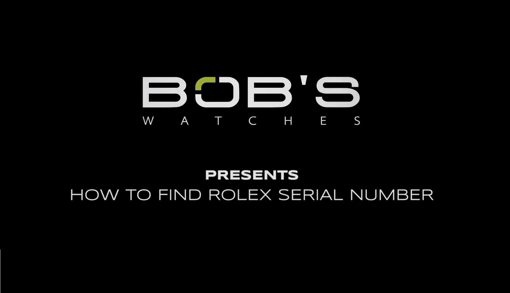 how to find your rolex serial number