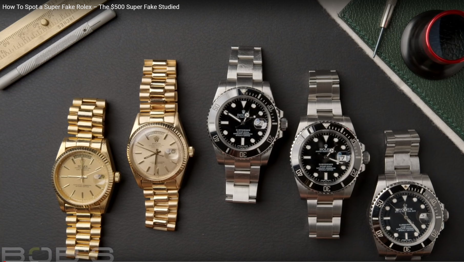 how to spot a super fake rolex