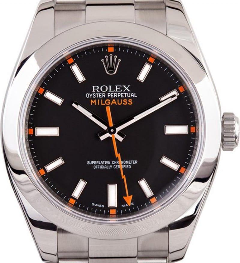 Rolex oyster perpetual milgauss watch 116400gv price in pakistan for Rolex milgauss