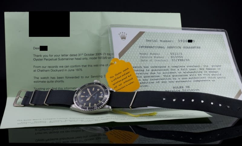 Military Issue Rolex Submariner Watches | Bob's Watches