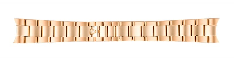 gold rolex oyster band