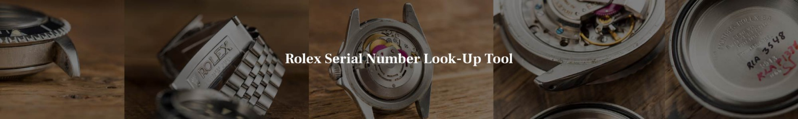 Look up your vintage Rolex serial number