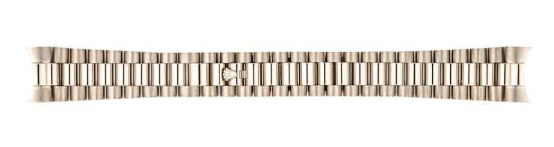 rolex white gold president watch strap