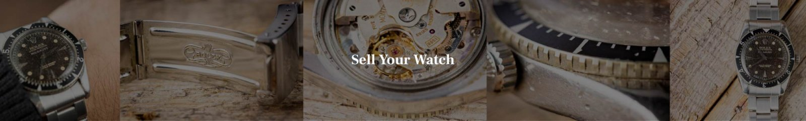 Sell us your vintage Rolex watch