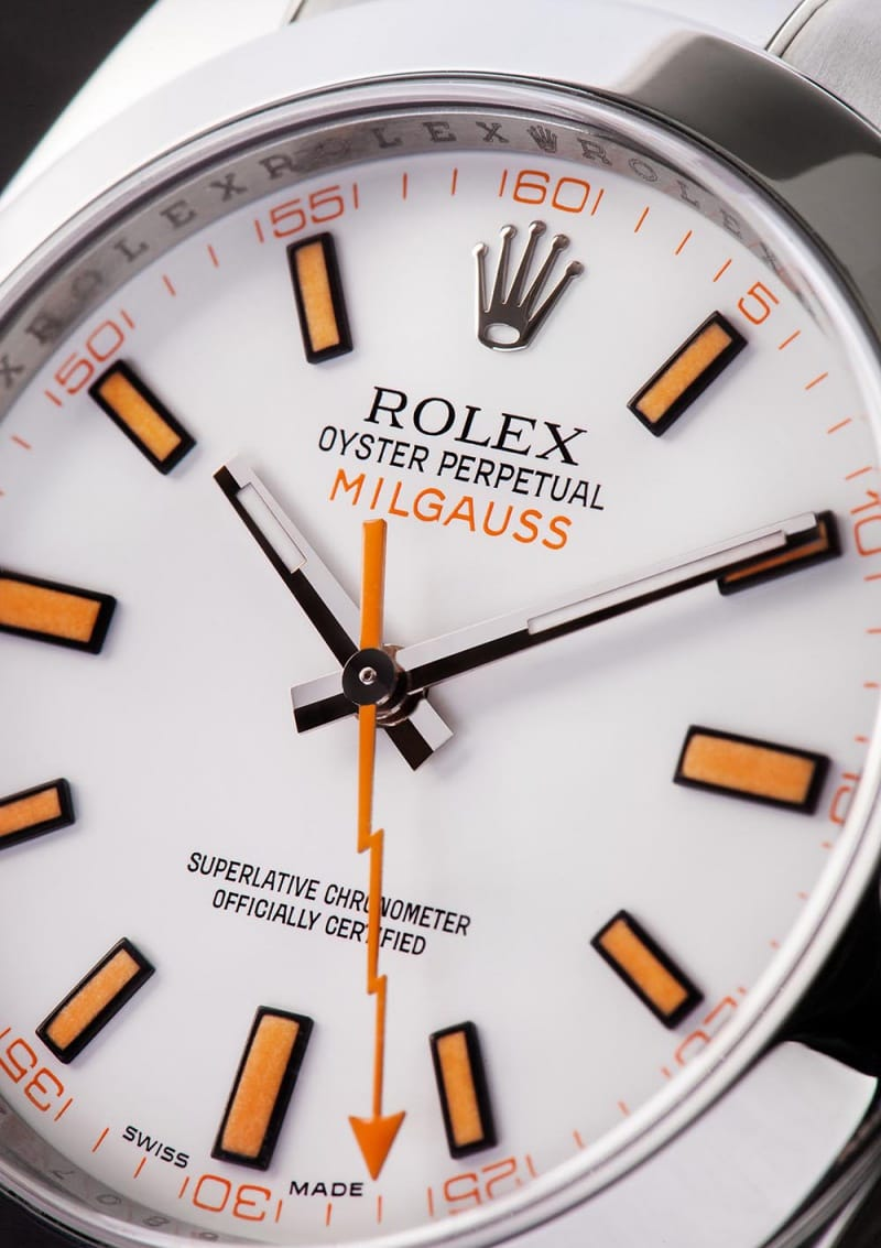 milgauss watch by Rolex