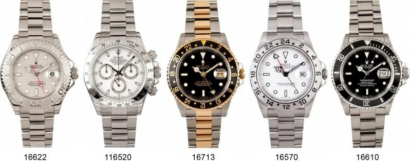 Rolex Watch Case Sizes - Bob's Watches