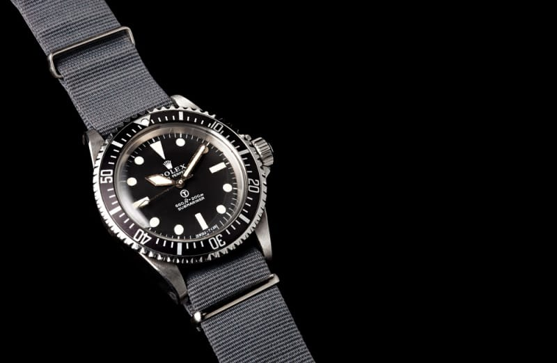 82ccdfbfb68e ... Investing in a Rare or Vintage Timepiece. military submariner rolex