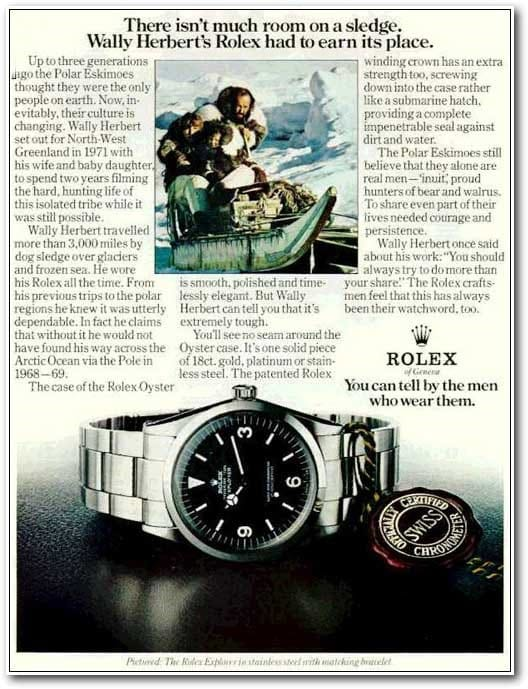 Famous Vintage Rolex Ads Throughout History