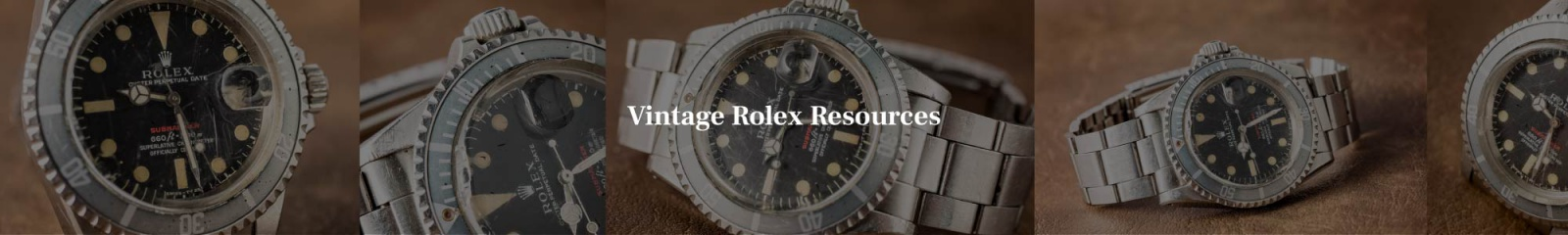 Vintage Rolex resources