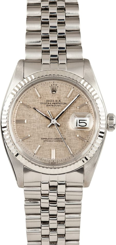 Vintage Rolex DateJust Stainless Steel 1601