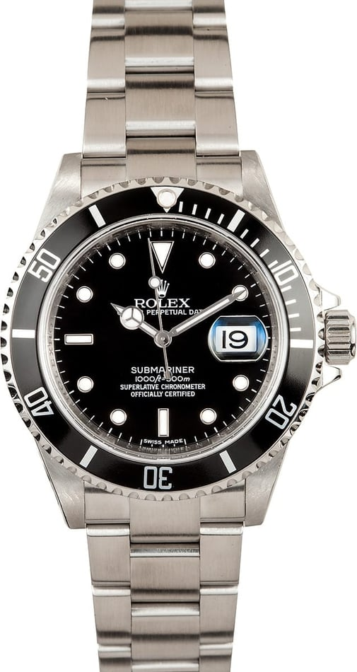 Rolex Men's Pre-owned Submariner 16610T