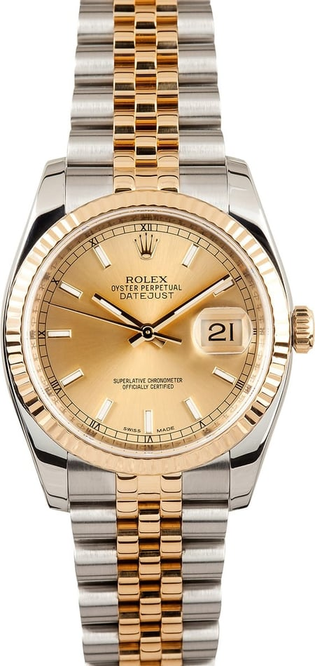 Rolex Datejust 116233 Two Tone
