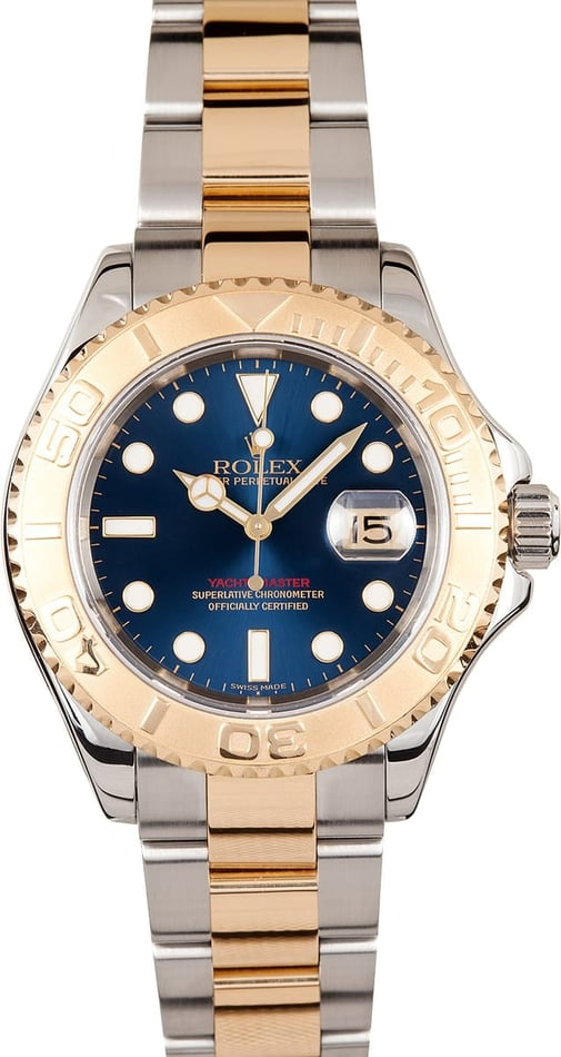 Rolex Yachtmaster Stainless & Gold 16623