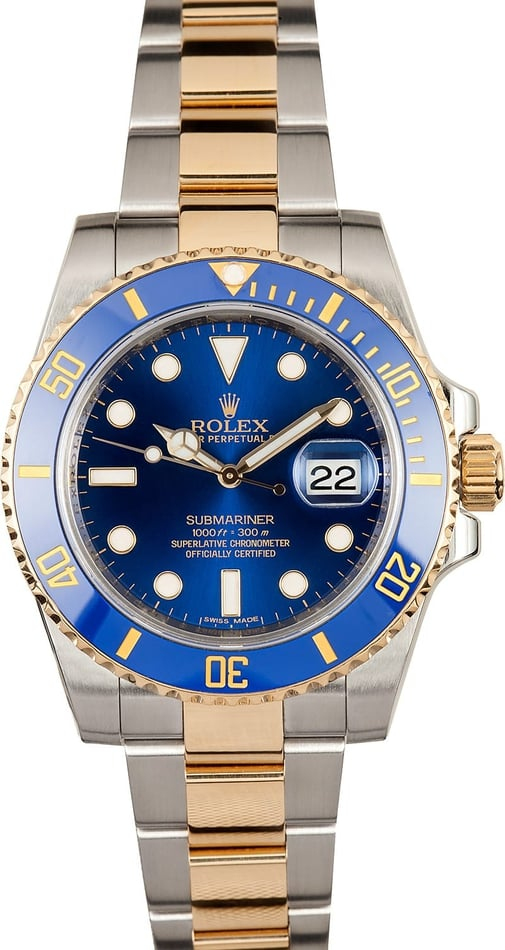 Blue Rolex Ceramic Submariner 116613