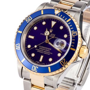 Rolex Submariner 16613 Blue
