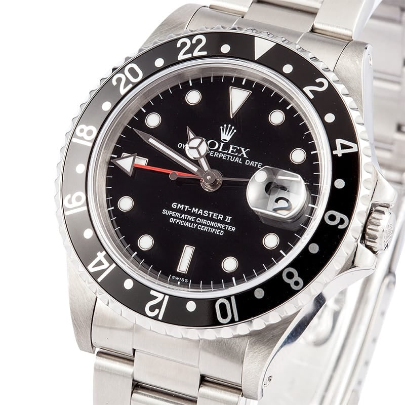 Men's Rolex GMT-Master II Model 16710