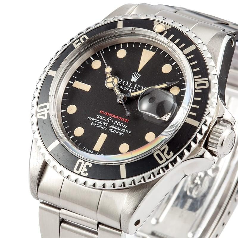 Rolex Submariner 1680 Natural Patina Dial
