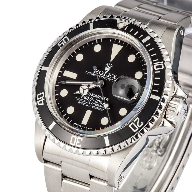 Vintage Rolex Submariner Black
