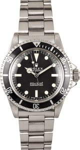 Vintage Rolex Submariner Stainless 5513