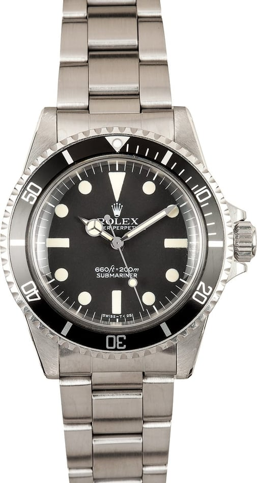 Vintage Rolex Submariner Watch 5513 2