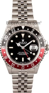 Men's Rolex GMT-Master II 16710 - Coke Bezel