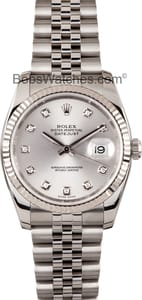 Rolex DateJust 116234 Diamond Dial