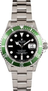 Rolex Submariner Green Anniversary Edition 16610T