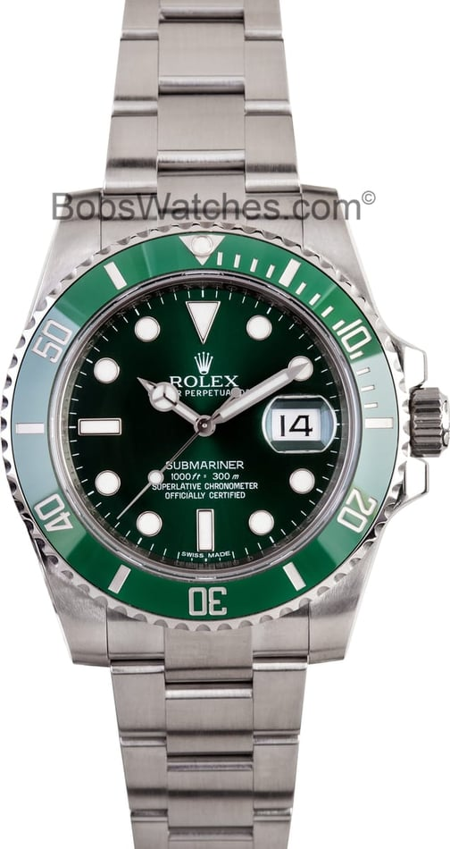 Rolex Submariner 116610LV Stainless Steel