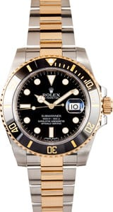 Pre-Owned Rolex Submariner 116613 Two Tone