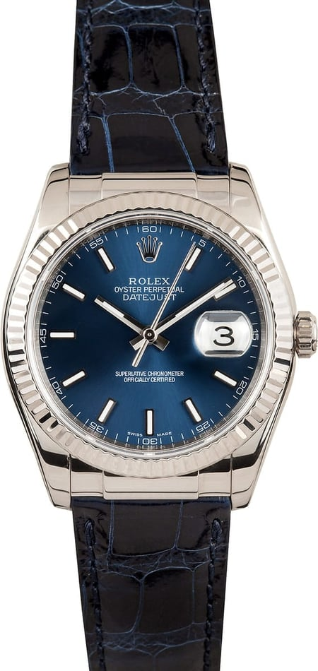 18k Rolex Oyster Perpetual DateJust 116139