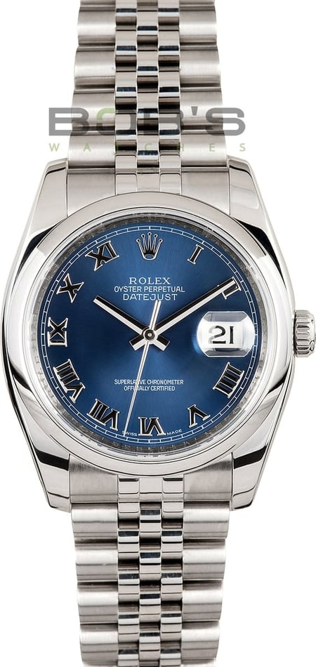 Men's Rolex Datejust 116200 Pre-Owned Watch