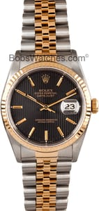 Rolex DateJust 16233 Black Dial