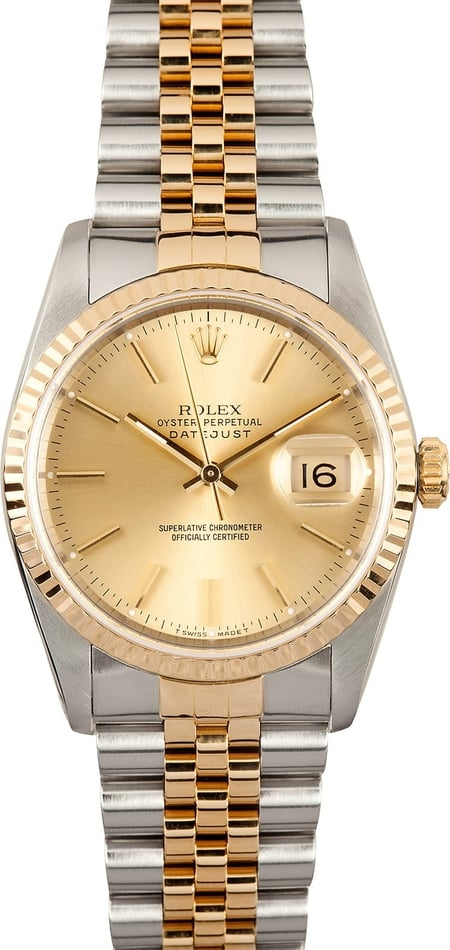 Rolex Mens Datejust 16233 x