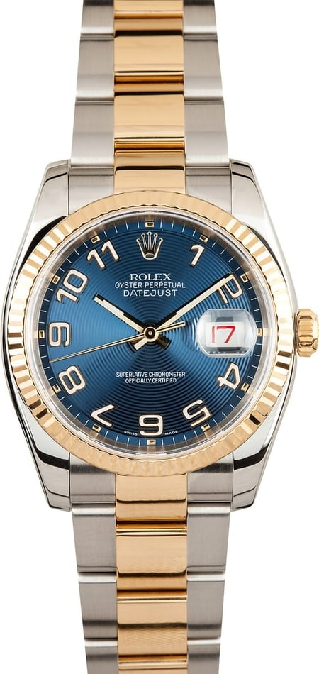 Rolex Datejust Blue Dial 116233
