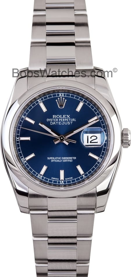 Mens 31 Jewels Automatic Watch 116200BLCAO