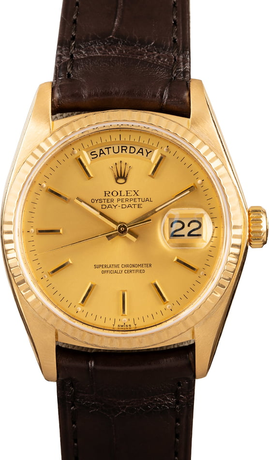 Used Rolex Day Date 18038 Men's Watch