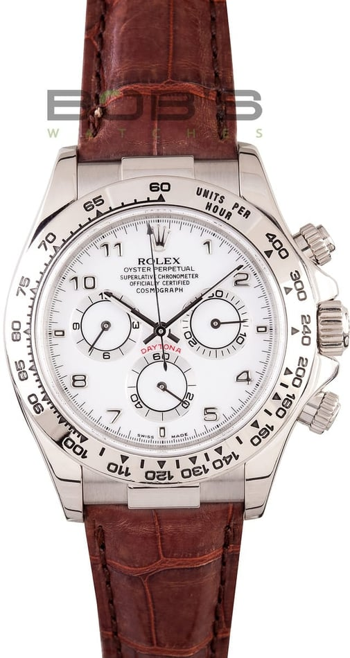 Rolex Daytona 18K White Gold