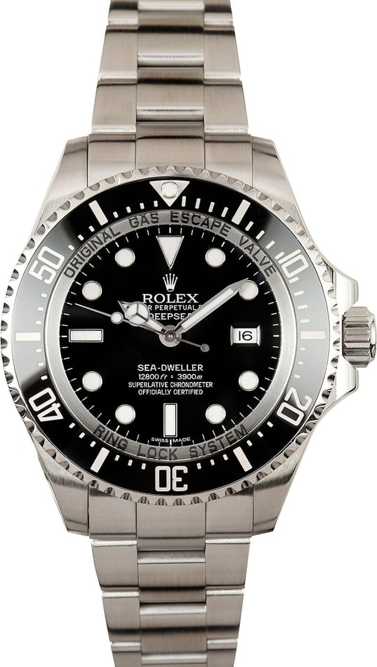 Pre Owned Rolex Sea Dweller Deepsea 116660 Ceramic