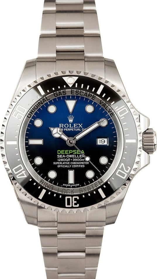 Rolex Sea-Dweller Deepsea 116660 D-BlueTT