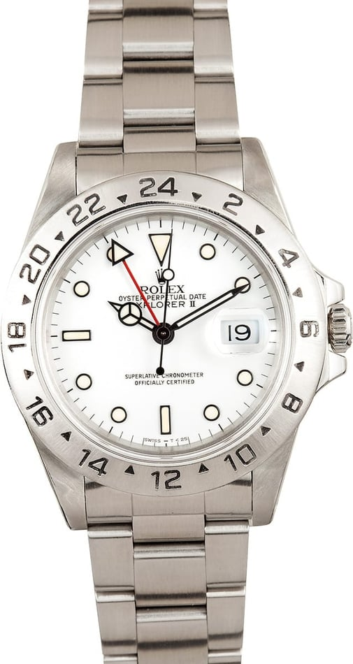 Used Rolex Explorer II Men's 16570