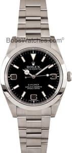 Used Rolex Explorer 214270 Men's at Bob's Watches
