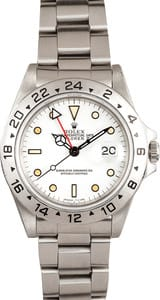 Used Rolex Explorer II Stainless Steel Watch 16570