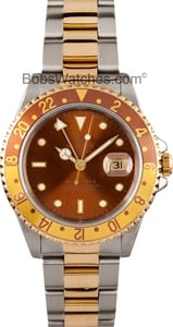 Rolex GMT Master 16713 Rootbeer, Stainless Steel and Gold