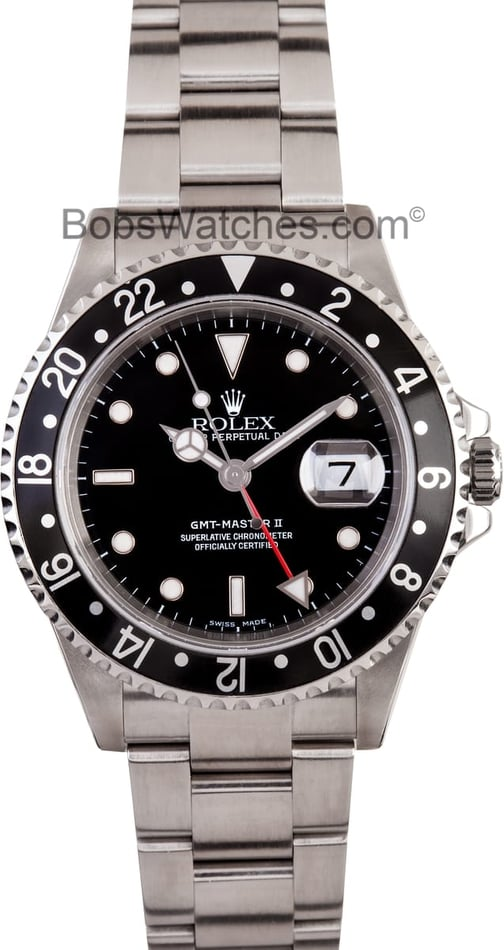 Rolex GMT Master II Mens Automatic Watch 16710BKSO
