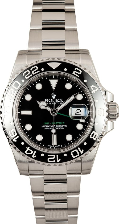 Rolex GMT Master II Black 116710 GMT Hand